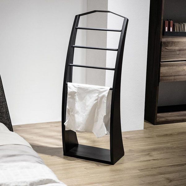 Clothes stand Black_in bedroom